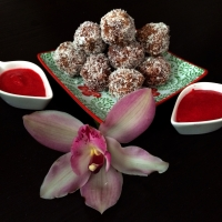 Raw Coconut Hazelnut Truffles