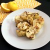 Roasted Cauliflower With Garlic, Lemon and Tahini Sauce