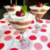 Chocolate Cherry Avocado Mousse with Coconut Whipped Cream - Happy Valentines Day!