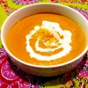 Thai Carrot Ginger Coconut Soup