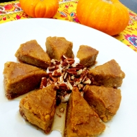 {Raw | Gluten-Free} Vegan Pumpkin Cheesecake