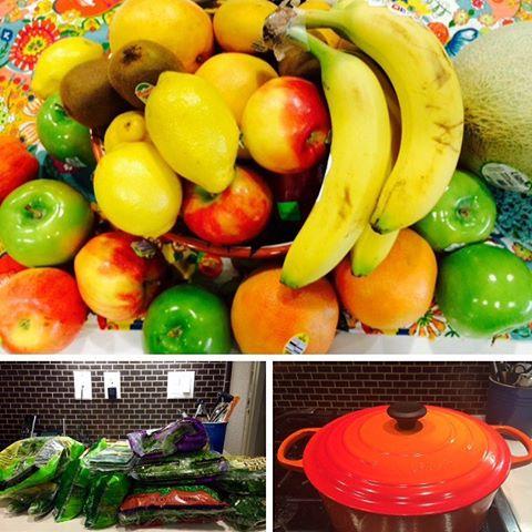 Sunday rituals Batch Cooking Lentils Quinoa Prepping fruit and veggieshellip