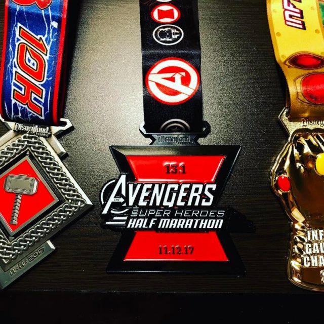 Infinity Gauntlet Challenge  193 miles Thor 10k  Avengershellip