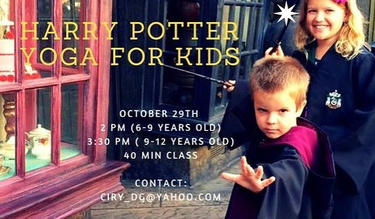 Teaching Harry Potter Themed Yoga Classes to Kids  Maybehellip