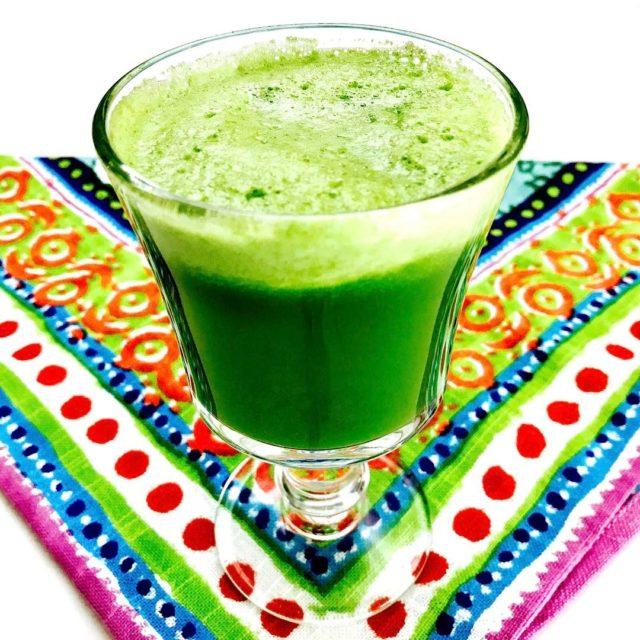 My Green Monster Juice  Cucumber spinach pineapple celery applehellip
