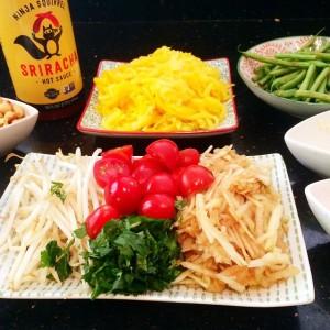 Thai Green Mango and Apple Salad