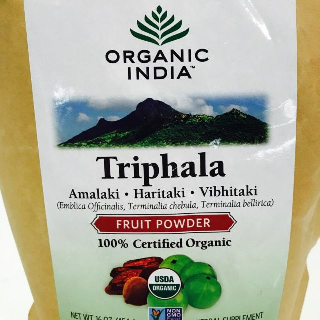 First time trying Triphala in powder It tastes  howhellip
