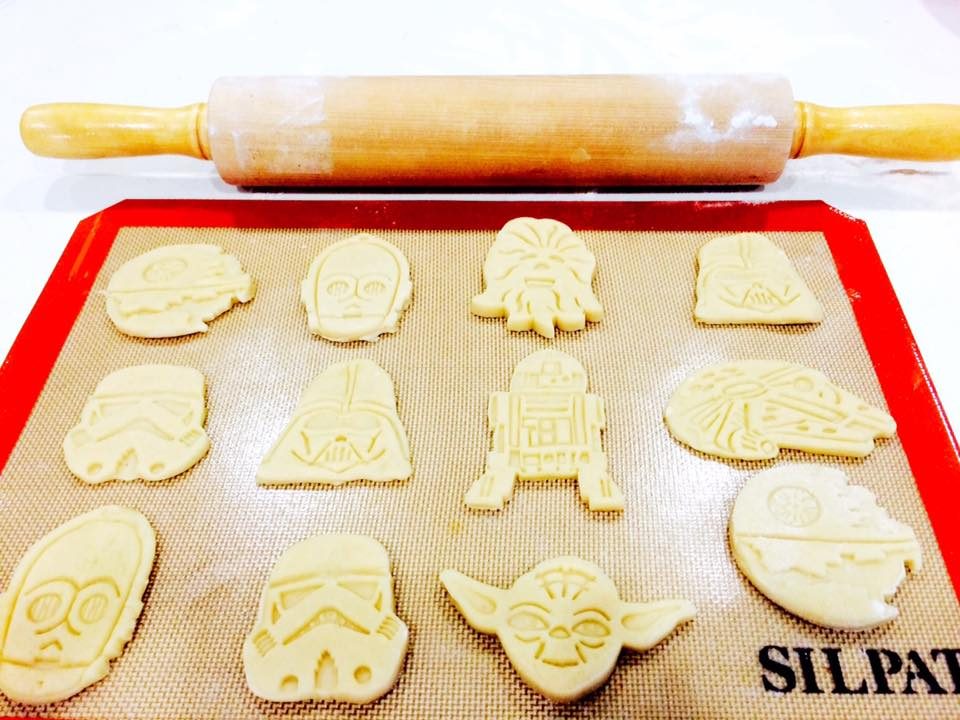 Star Wars Cookies - In Progress