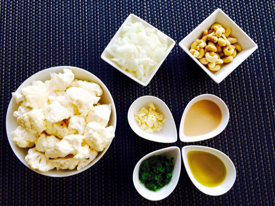 Cauliflower Soup Mise