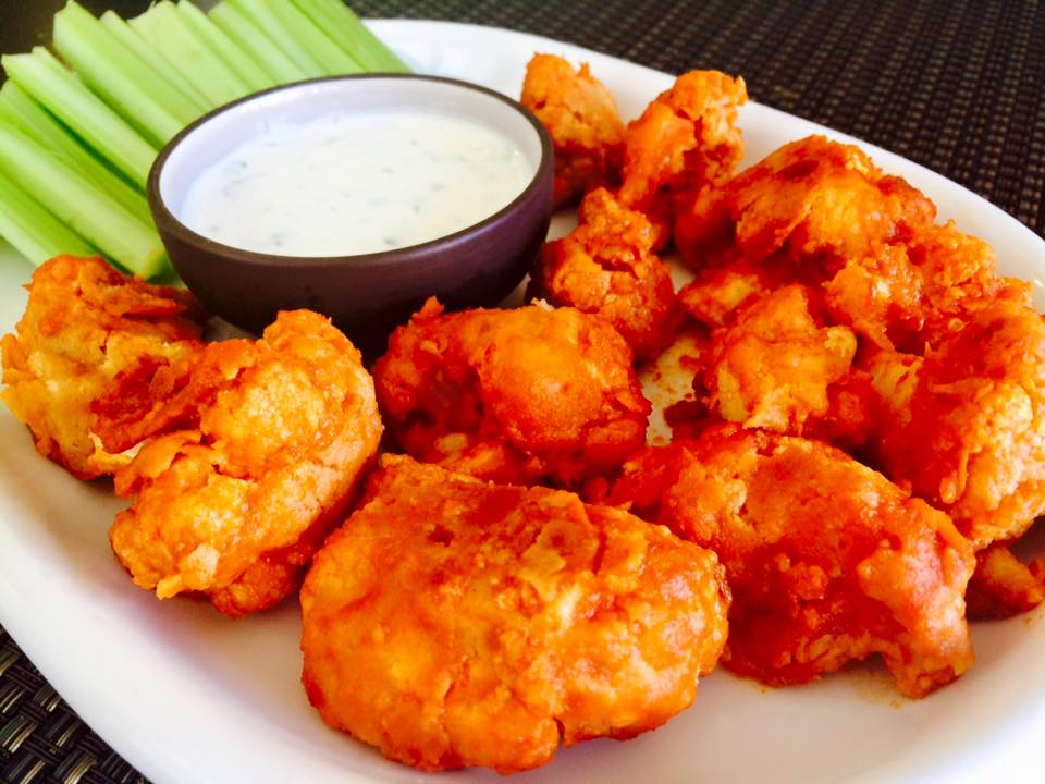 Vegan Buffalo Cauliflower Wings Sunshine Amp Kale