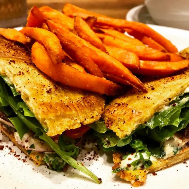 Portobello Jibarito Sandwich nativefoodscafe Continue reading rarr